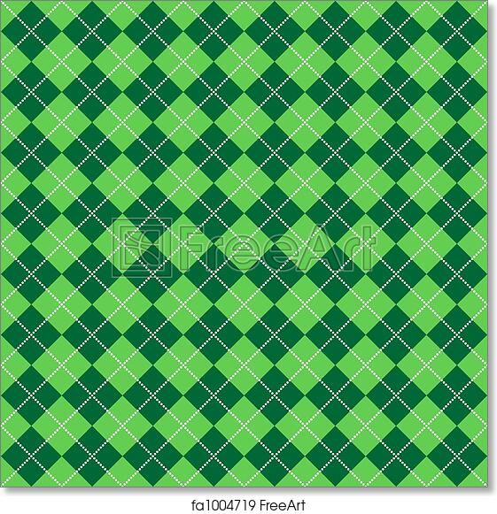 picture about Lite Brite Free Printable Patterns referred to as Cost-free artwork print of Eco-friendly Argyle Habit