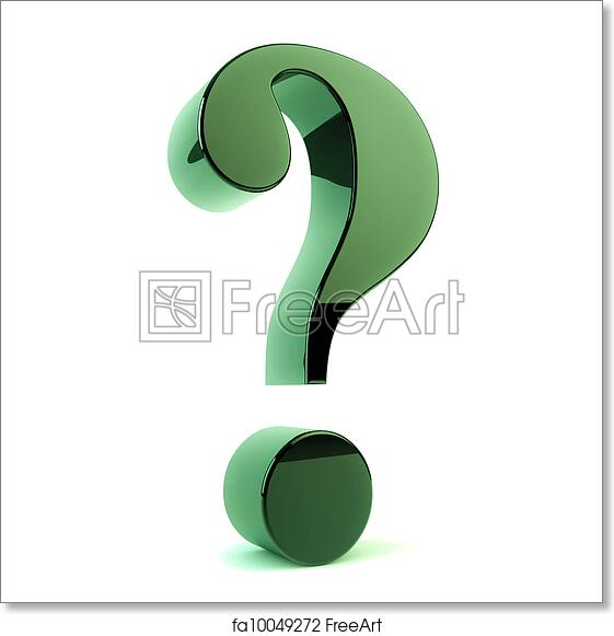 photo regarding Printable Question Mark known as Totally free artwork print of Ponder mark