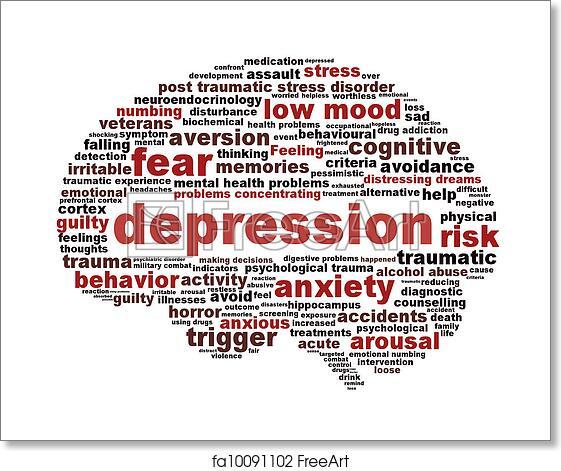 Depression symbol