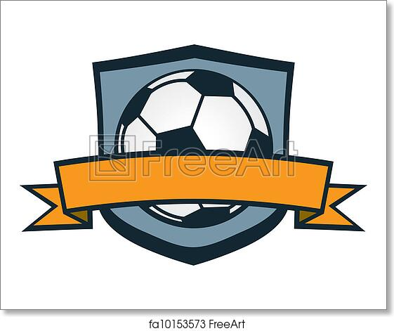 Free Art Print Of Soccer Team Crest