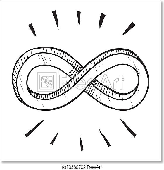 Free Art Print Of Infinity Symbol Sketch Doodle Style Infinity Math