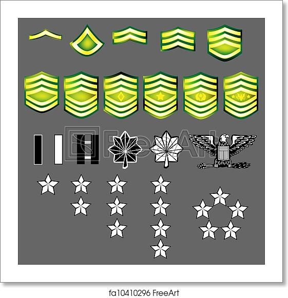 Army us and rank insignia U.S. Military