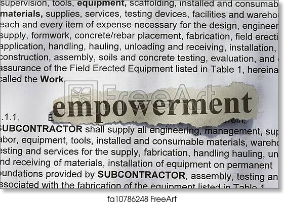Free Art Print Of Empowerment