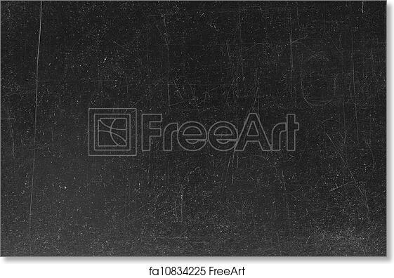 free art print of blackboard chalkboard texture empty blank black chalkboard with chalk traces