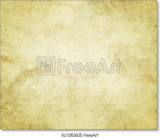 Very Free art print of Old paper or parchment. Large old paper or  SO84