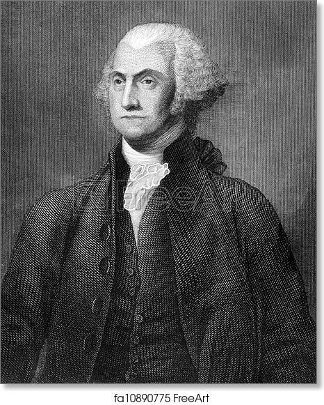 photo regarding Printable Pictures of George Washington named Free of charge artwork print of George Washington