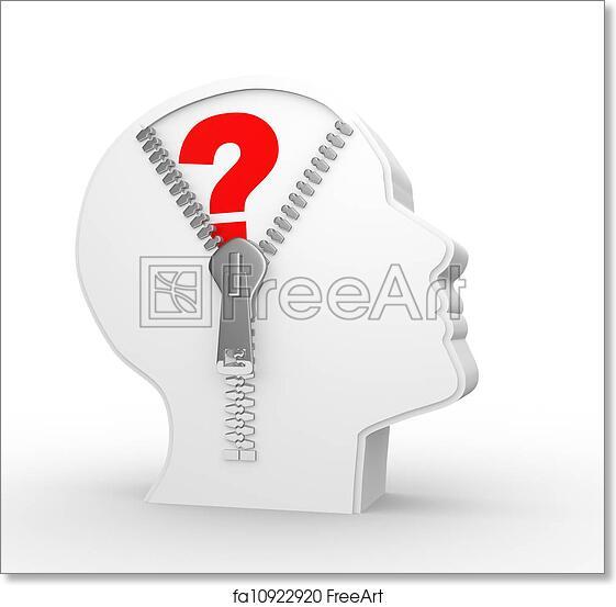 photo regarding Printable Question Mark titled No cost artwork print of Wonder mark