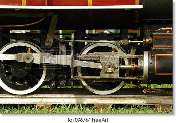 Free art print of Steam train