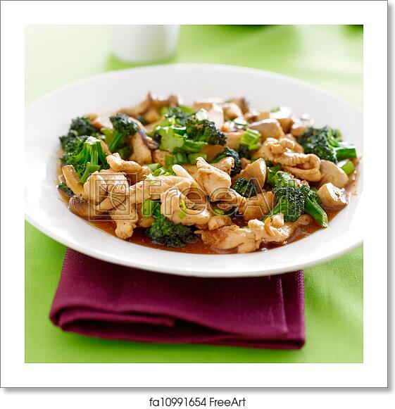 Free art print of chinese food chicken and broccoli stir fry free art print of chinese food chicken and broccoli stir fry forumfinder Choice Image