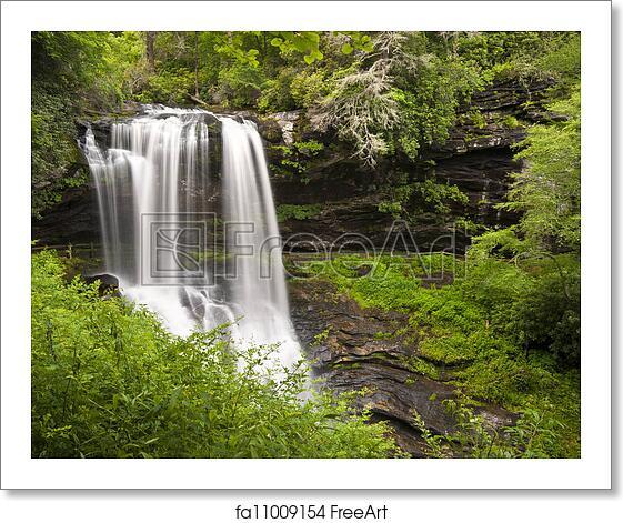 Free Art Print Of Dry Falls Highlands NC Waterfalls Nature