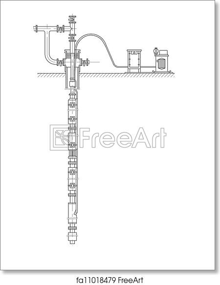 Free art print of Schematic of an oil well. Sketch. Schematic of an Oil Well Schematic on blowout preventer, oil platform, oil well liner, oil well casing, directional drilling, oil well parts, oil well christmas tree, oil well 3d, oil well drilling, drilling rig, oil well architecture, oil well features, oil well icon, drilling fluid, oil well engineering, drill bit, oil well hardware, submersible pump, oil well description, oil well diagram, oil well project, oil well chart, oil well model, oil well drawing, well drilling, oil well choke, offshore drilling, oil well packer, oil well head equipment, christmas tree,