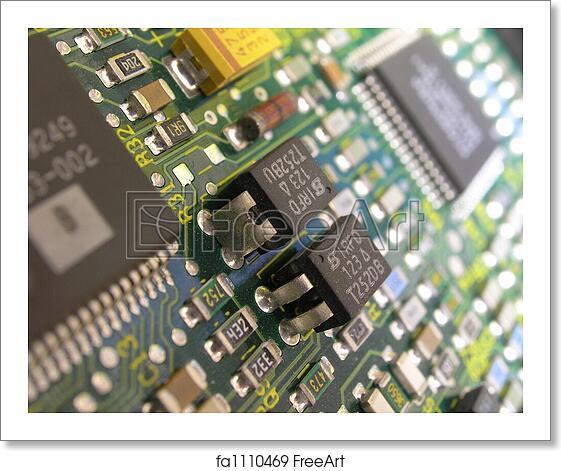 Free art print of Printed circuit board
