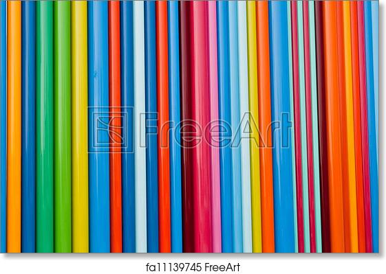 Free art print of Color Lines