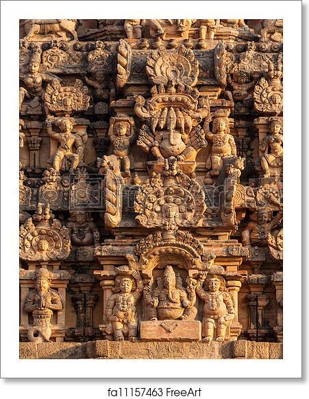 Free art print of Brihadishwarar Temple, Thanjavur