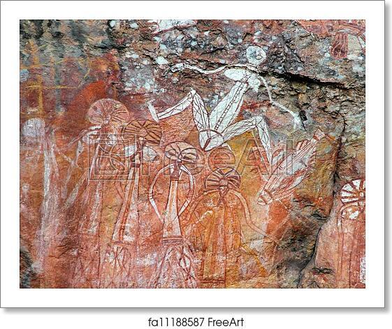 Free Art Print Of Aboriginal Rock Art Aboriginal Rock Art At
