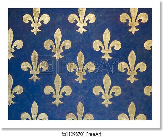 Free Art Print Of Fleur De Lis Wallpaper