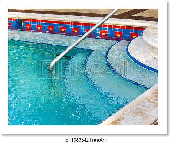 Free Art Print Of Input To The Small Pool Jacuzzi Freeart Fa11363542
