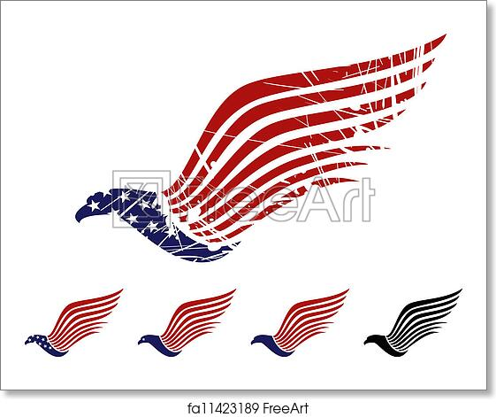 Free Art Print Of American Eagle Symbol American Eagle Symbol