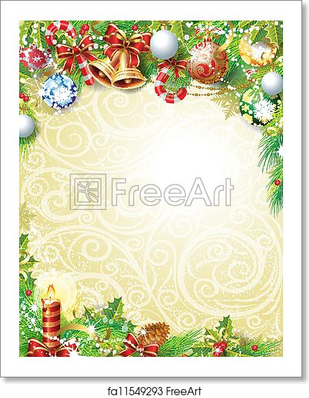 Christmas Background Free.Free Art Print Of Vintage Christmas Background