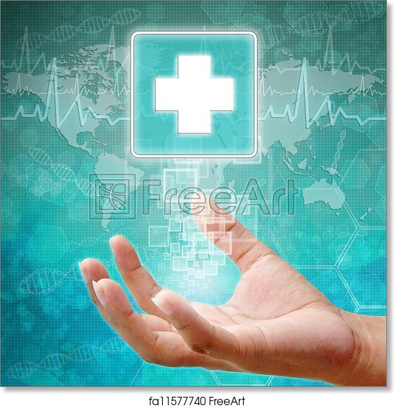 picture relating to Printable First Aid Sign known as No cost artwork print of Initially Guidance Brand upon hand, health care historical past