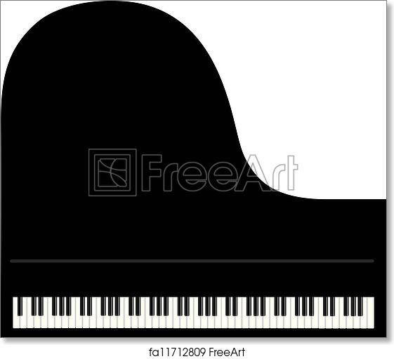 image regarding Piano Keyboard Printable referred to as Absolutely free artwork print of Grand Piano Historical past