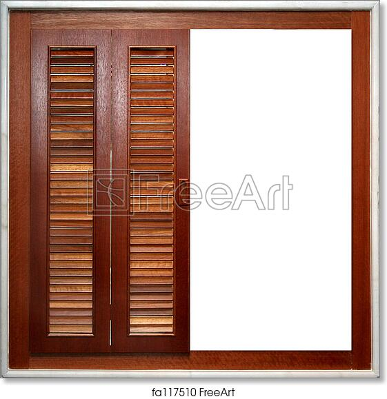 Free Art Print Of Window Frame