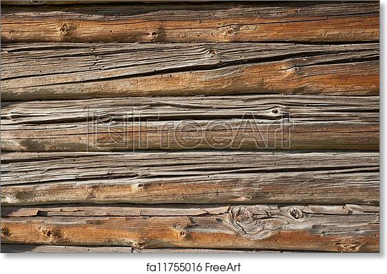 Free Art Print Of Old Wooden Wall