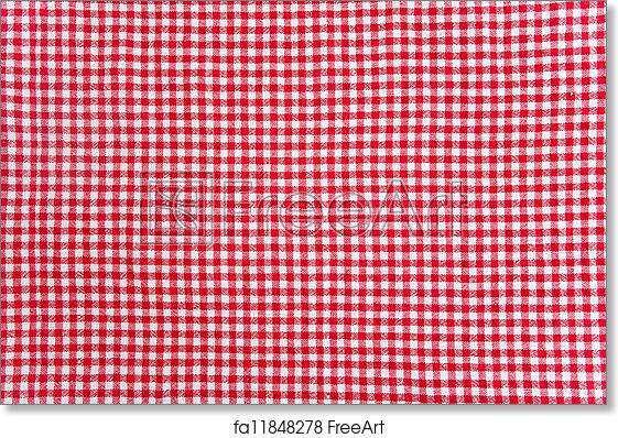 Free Art Print Of Table Cloth Texture