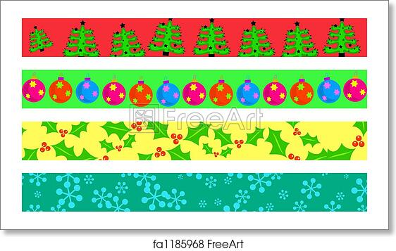 Christmas Page Border.Free Art Print Of Christmas Borders