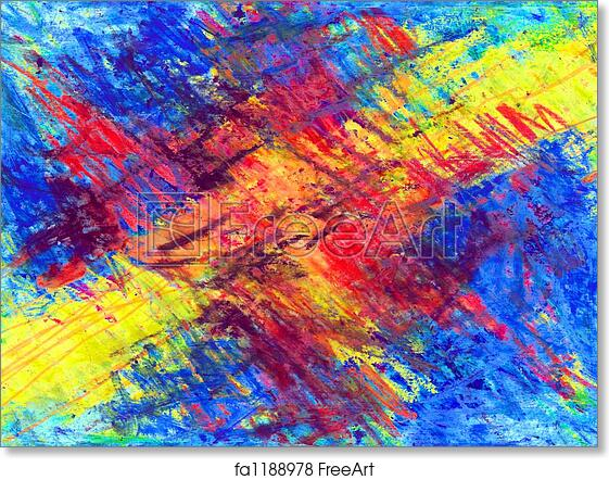 Free Art Print Of Abstract Colors