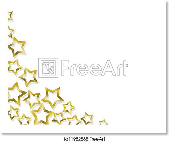 Elegant Christmas Background Images.Free Art Print Of Elegant Christmas Stars Background