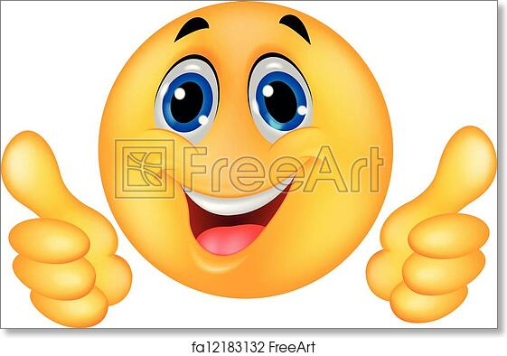 photograph about Free Printable Smiley Faces Clip Art referred to as Free of charge artwork print of Pleased Smiley Emoticon Facial area