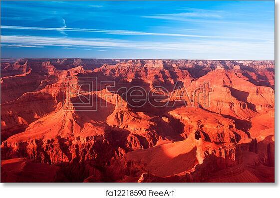 Free Art Print Of Grand Canyon Sunset