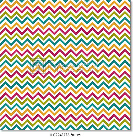 image regarding Free Printable Chevron Pattern identified as Totally free artwork print of Seamless Chevron Behavior