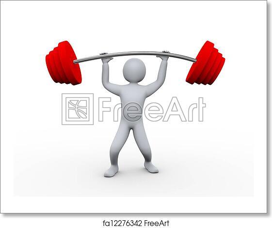 Human Body Exercise Decor Mural
