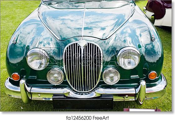 Free Art Print Of Jaguar MARK Jaguar MARK Image - Green isle park car show