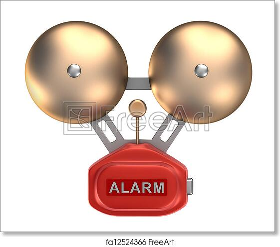 photograph about Free Printable Bell Ringers named Absolutely free artwork print of Alarm bell ringer. Isolated