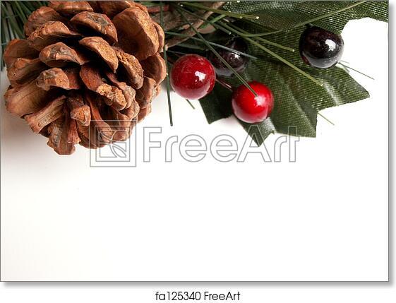 Christmas Greenery.Free Art Print Of Christmas Greenery