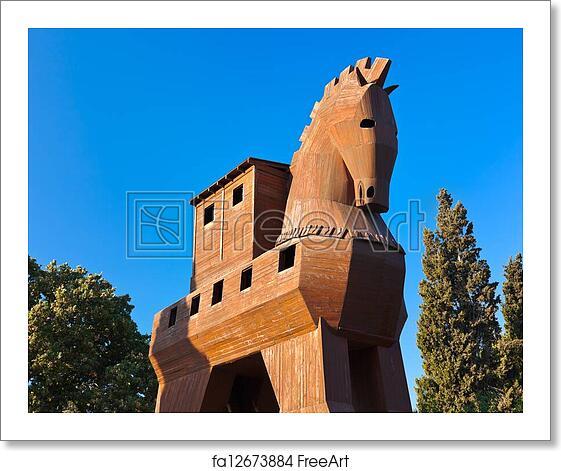 Free art print of Trojan Horse - Troy Turkey