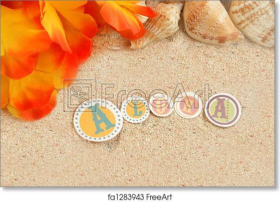 Free Art Print Of Hawaiian Beach Background