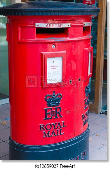 Royal Mail Letter Box.Free Art Print Of Royal Mail Letter Box