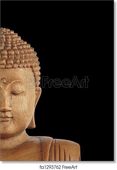 Free Art Print Of Buddha Symbol Of Peace Buddha With Eyes Closed