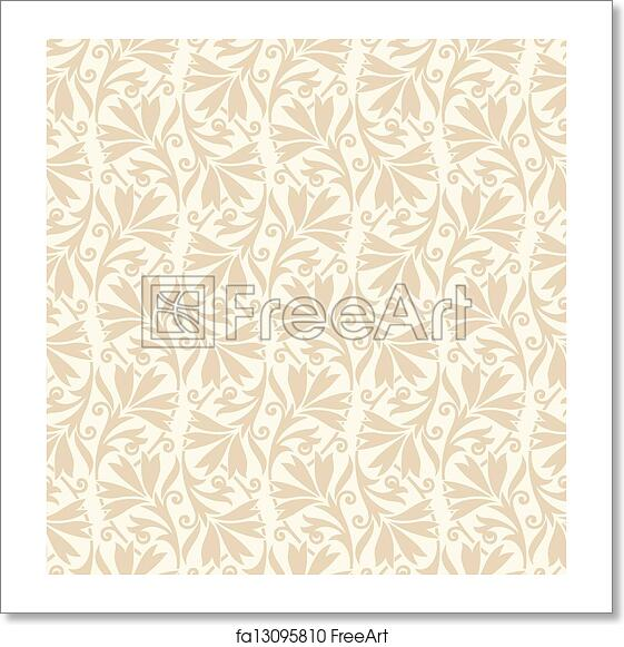 Free Art Print Of Traditional Wedding Card Background Freeart