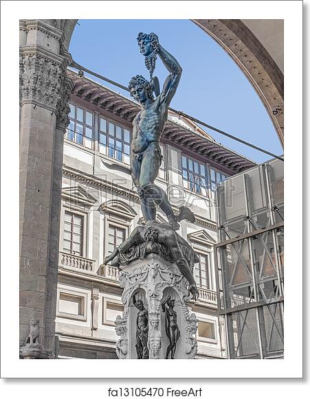 Free Art Print Of Perseus With The Head Of Medusa In Florence Italy