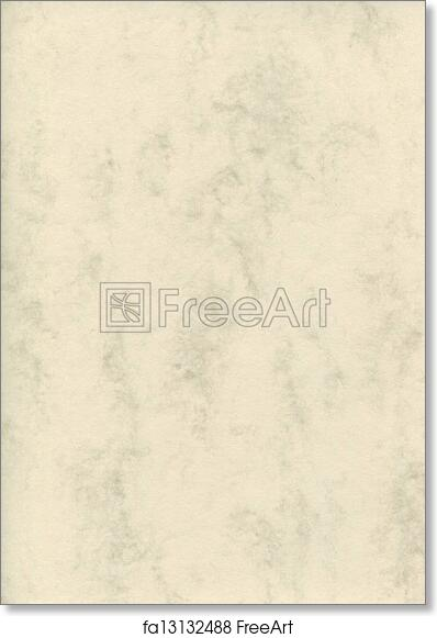 free art print of natural decorative art letter marble paper texture