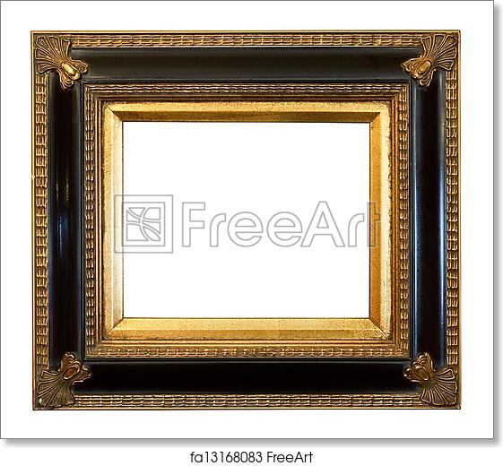 Free art print of Old antique Gilded Picture Frame. Thick antique ...