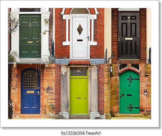 Free Art Print Of House Front Doors