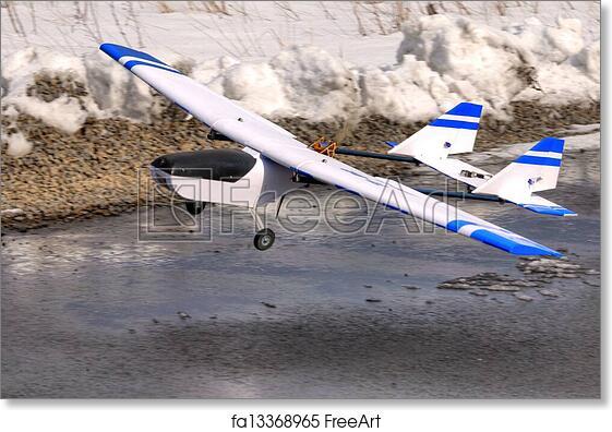 Free art print of RC plane