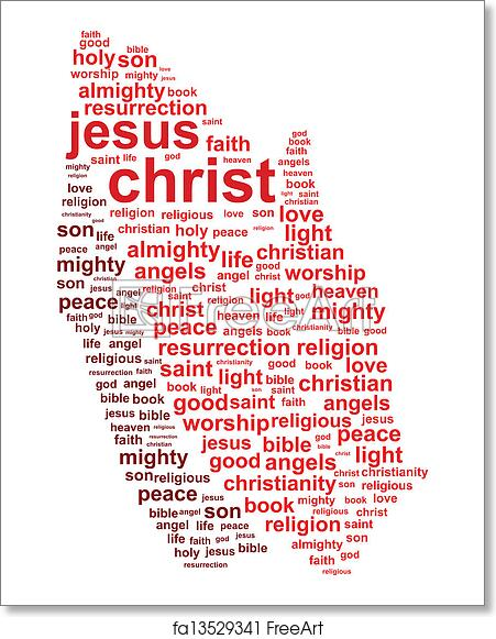 Free art print of Jesus Christ