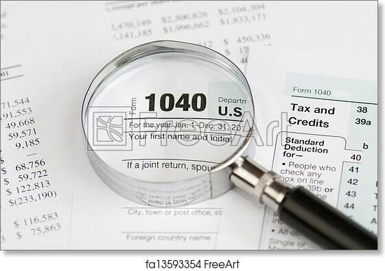 Free Art Print Of 1040 Income Tax Form Tax Form 1040 For Us